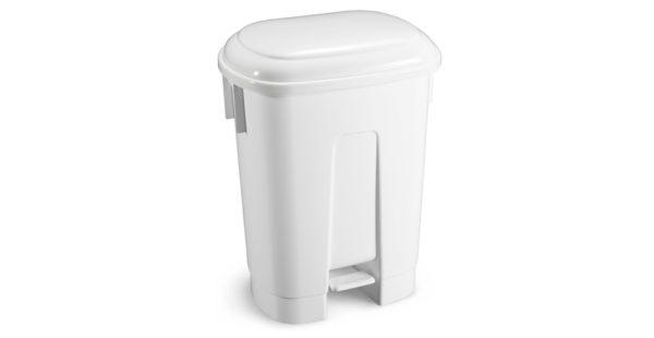 Coș gunoi din plastic, fabricat în conformitate cu cerințele HACCP.
