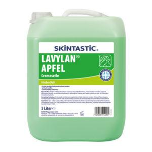 Săpun lichid cu parfum de măr verde.