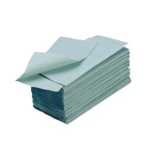 Prosoape de hârtie pliate, gofrate.