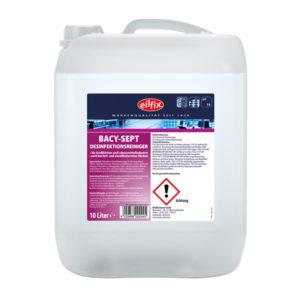 Detergent pentru curățarea și dezinfectarea tuturor suprafețelor rezistente la apă.