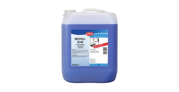 Detergent pentru geamuri și suprafețe din sticlă cu un conținut ridicat de alcool.