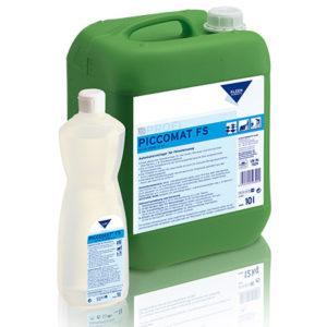 Detergent puternic alcalin pentru suprafețe dure și pardoseli.