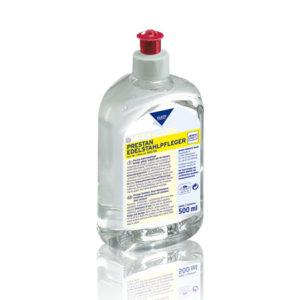Soluție care curăță și protejează toate suprafețele din inox.