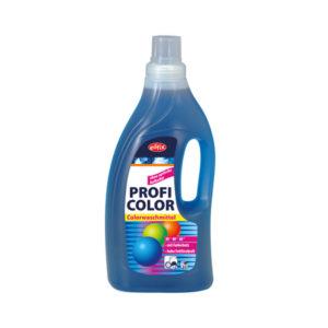 Detergent lichid pentru haine colorate, cu o putere de spălare ridicată și protecție activă a țesăturii.