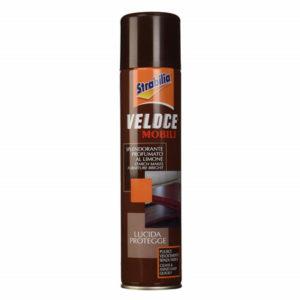 Spray care curăță și lustruiește ușor și repede orice tip de mobilă.